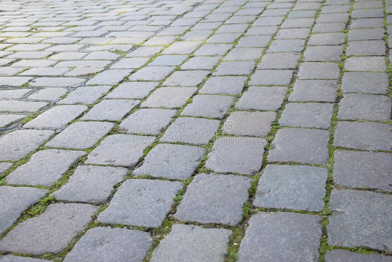 Cobblestone, Grass, Road Surface, Walkway Free Public Domain Cc0 Image