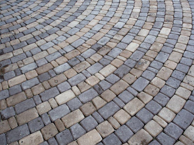 Cobblestone pavement royalty free stock image