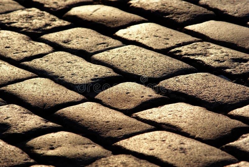 Cobblestone Pavement Texture Royalty Free Stock Image