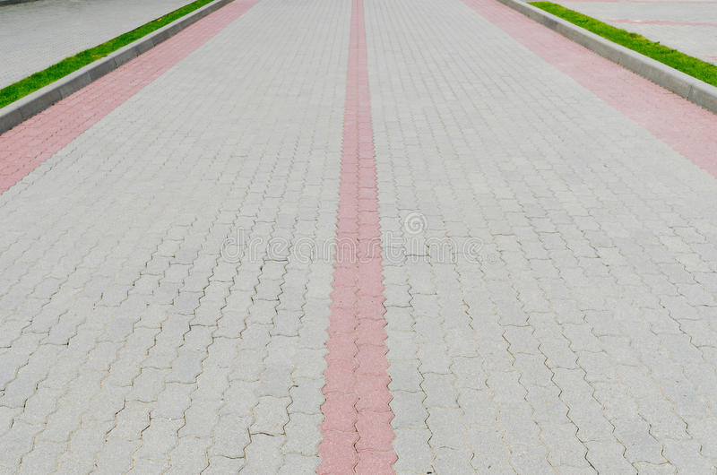 Download Cobblestone road stock image. Image of roadway, dark - 24136693