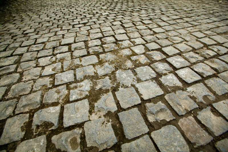 Download Cobblestone road stock image. Image of closeup, pavement - 24158571