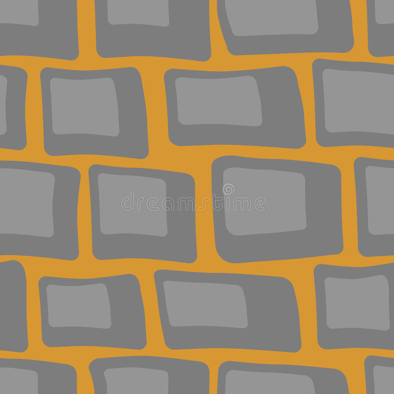 Cobblestone seamless. Cobblestone background seamless vector illustration royalty free illustration