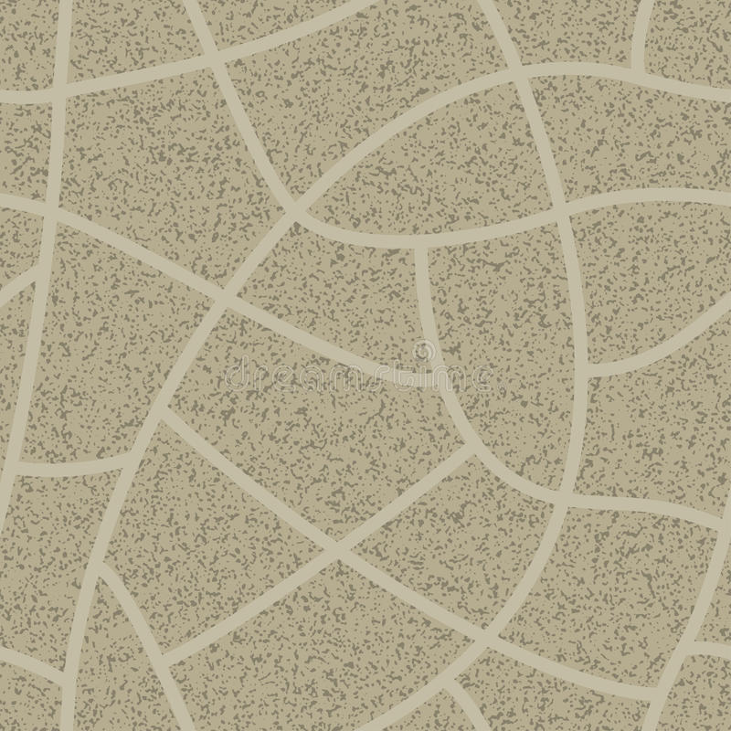 Cobblestone seamless background. royalty free illustration