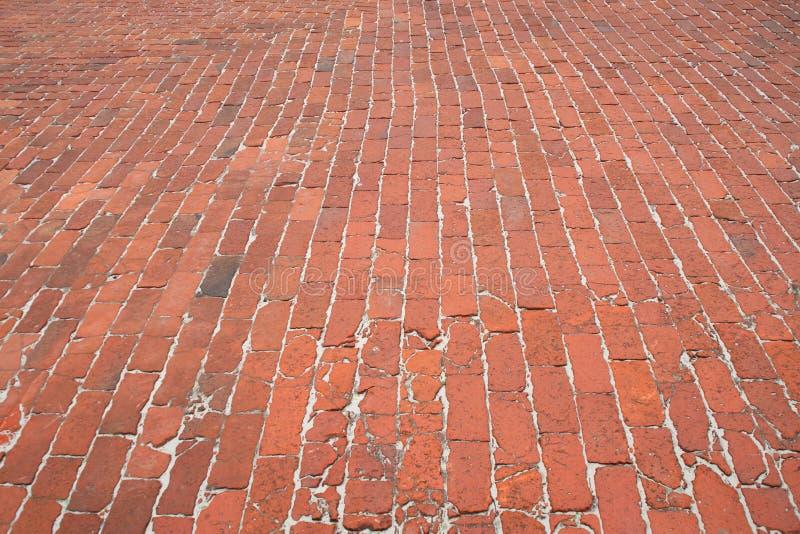 cobblestone vecchio fotografie stock