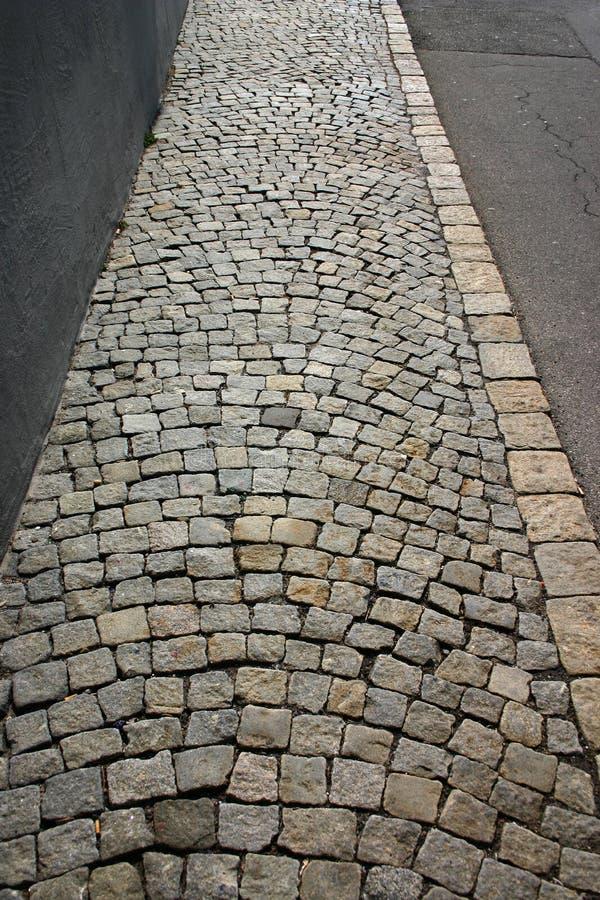 Free Cobblestone Walk Stock Image - 791441