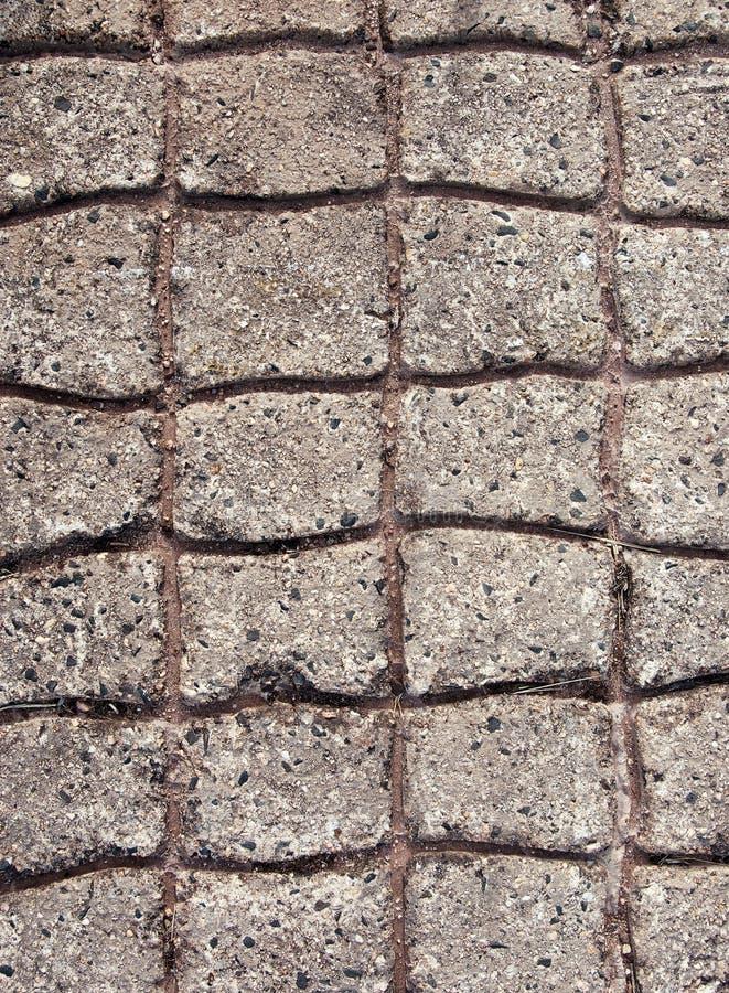 Cobblestones concreti pavimentati immagini stock libere da diritti