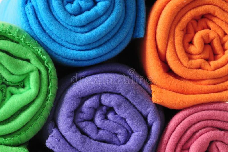Cobertores. fotos de stock