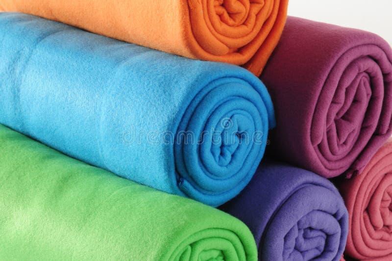 Cobertores. imagem de stock royalty free