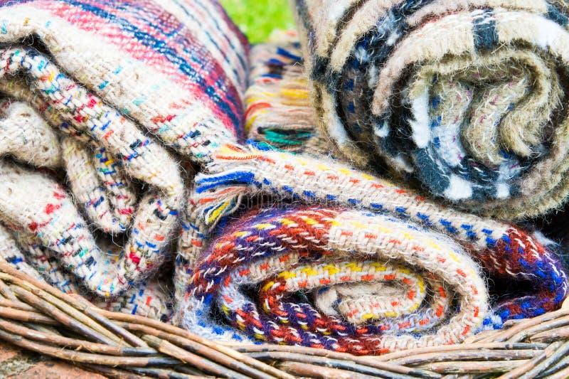 cobertores fotografia de stock royalty free