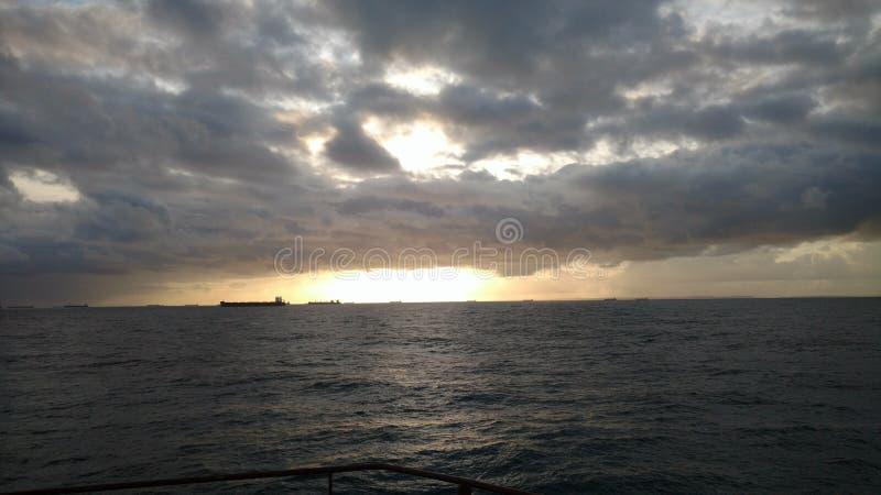 Cobertura da nuvem fotos de stock