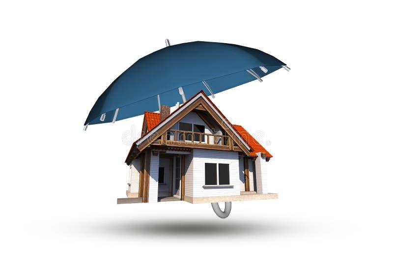 Cobertura de seguro home ilustração royalty free