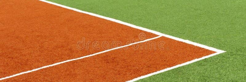 Cobertura do tênis de corte dos esportes da cor Conceito do fundo do esporte foto de stock royalty free