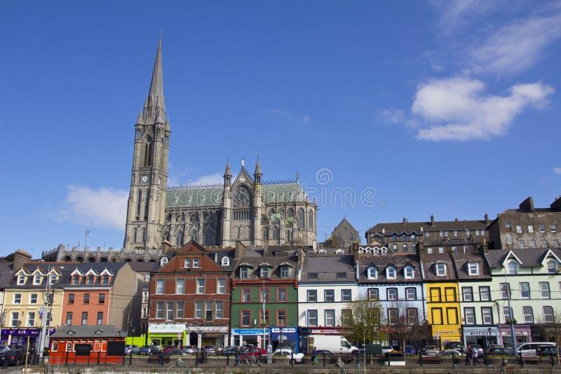 cobh Ирландия собора стоковое изображение