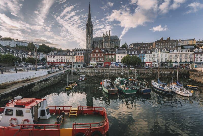 Cobh, corcho del condado, Irlanda fotografía de archivo