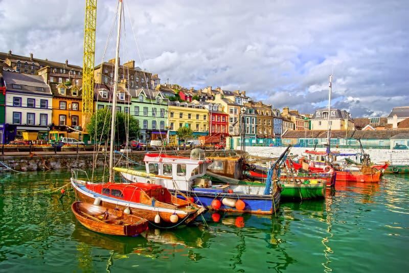 Cobh en Irlanda fotografía de archivo libre de regalías