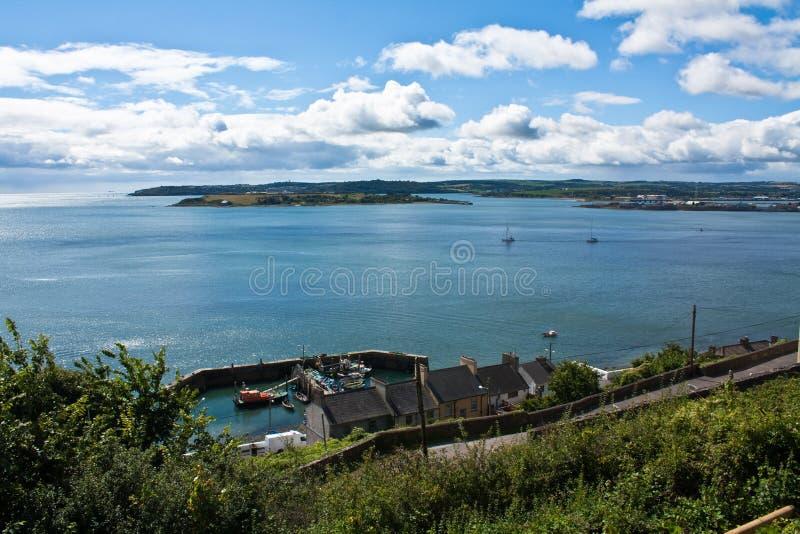 Cobh harbour in County Cork