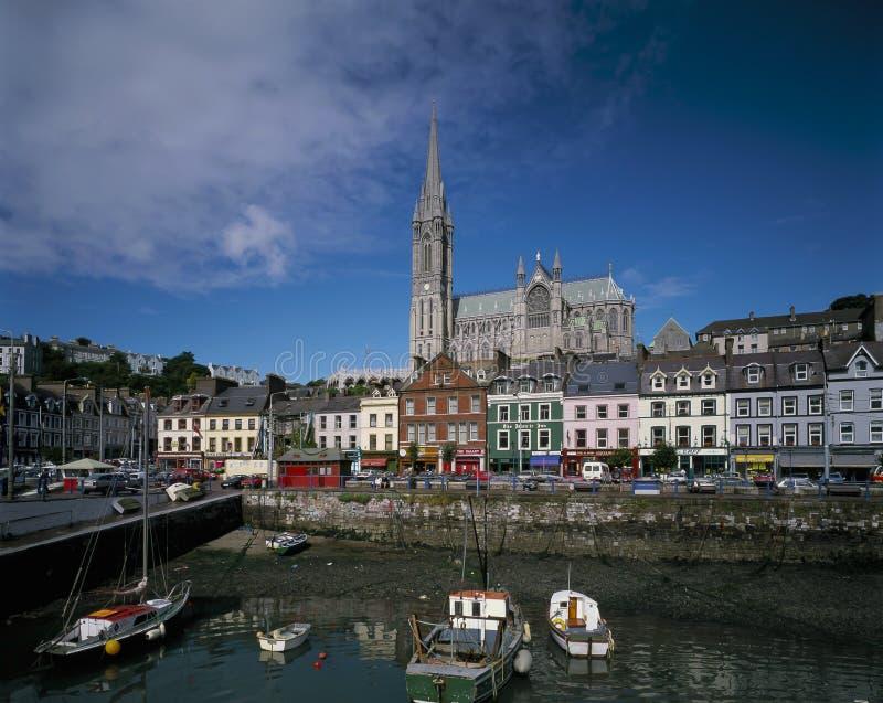 COBH, okręg administracyjny KORKOWY IRLANDIA fotografia royalty free