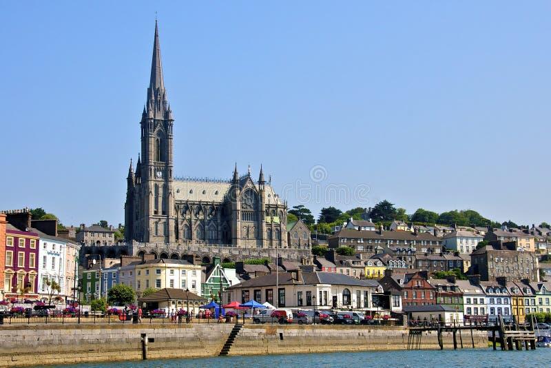 Cobh okręgu administracyjnego Grodzki korek Irlandia fotografia stock