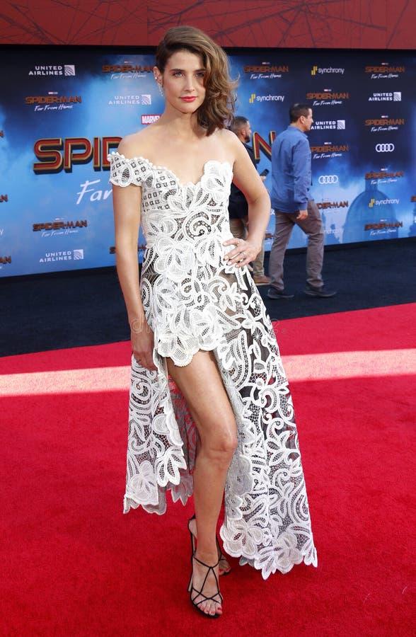 Cobie Smulders immagine stock