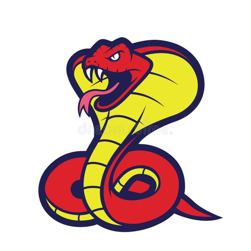 cobra snake mascot stock vector illustration of poison 82653498 rh dreamstime com cobra head clipart cobra clipart png