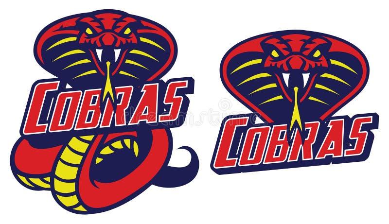 Cobra snake vector illustration