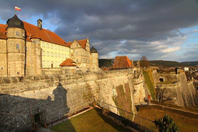 coburg φρούριο στοκ φωτογραφία
