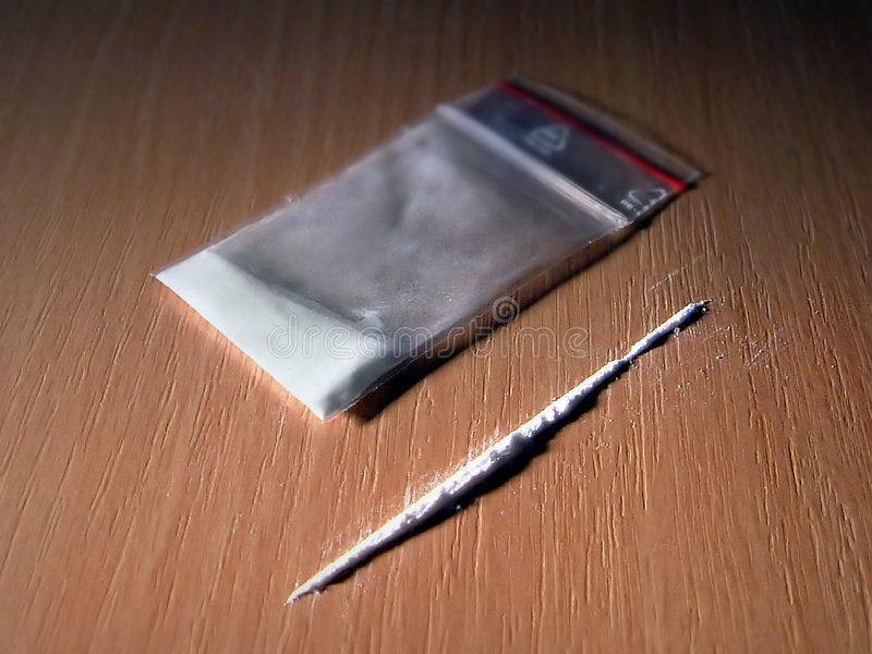 Cocaína foto de archivo libre de regalías