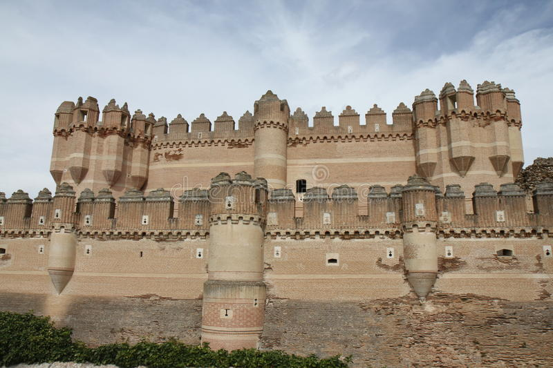 Coca Castle royalty free stock photography