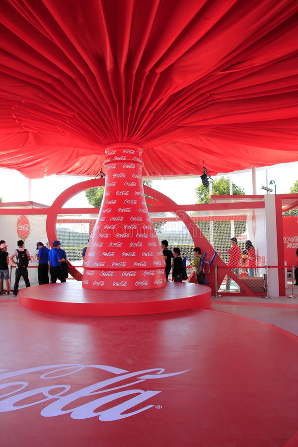 Coca-cola fotografia de stock royalty free