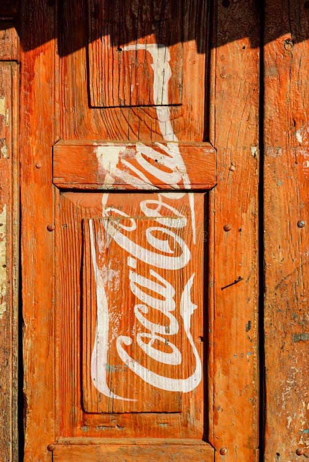 Coca-Cola-Anzeige