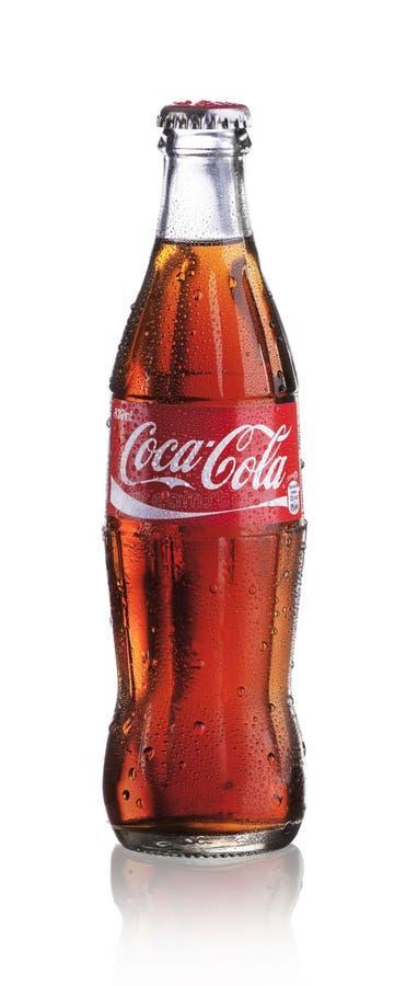 Coca Cola bottle stock images