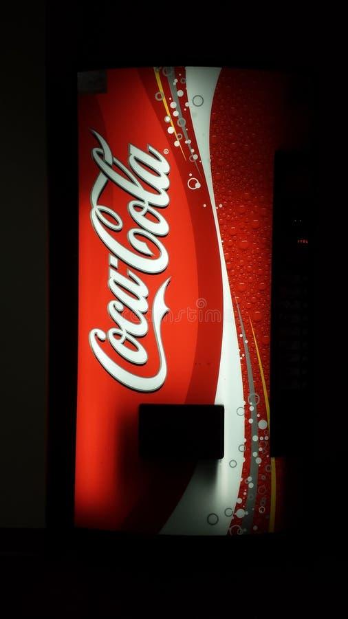 Coca-Cola coke machine royalty free stock images