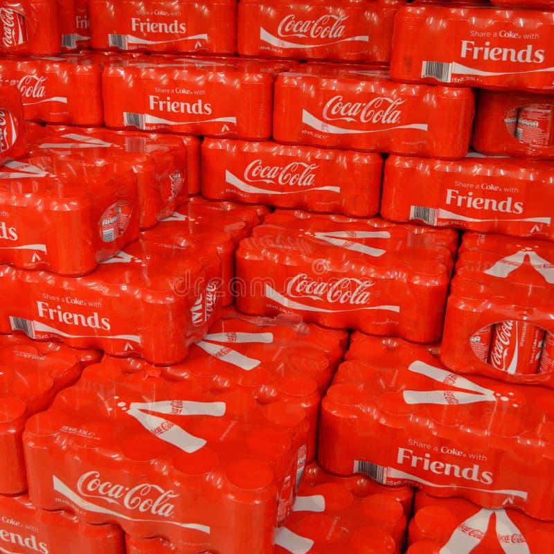 Coca Cola Friends fotografia de stock royalty free