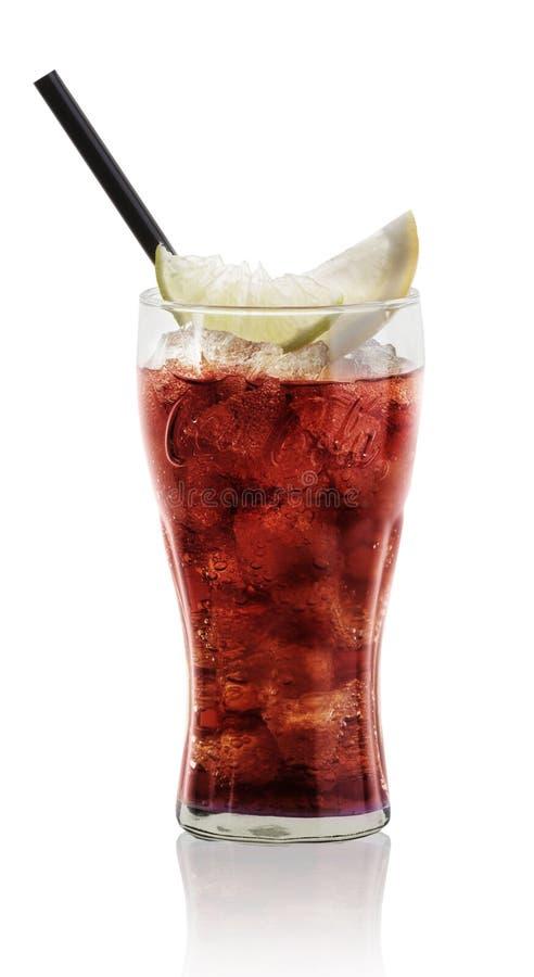 Coca-cola ghiacciata immagini stock