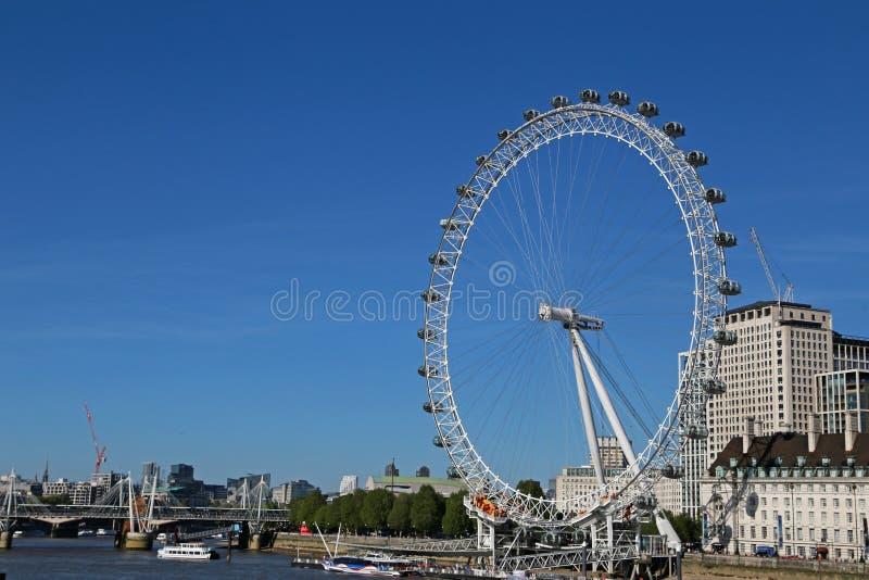 Coca Cola London Eye royalty-vrije stock foto's