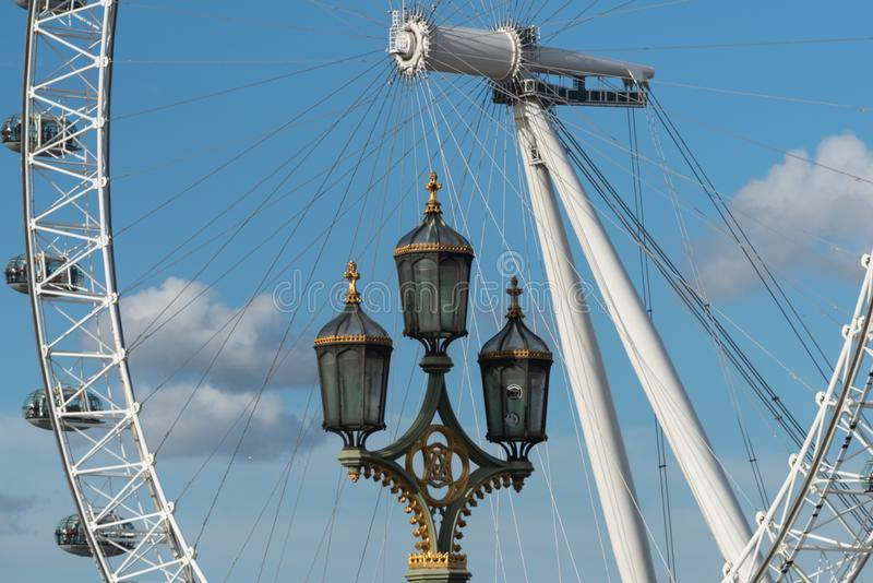 Coca-Cola London Eye - Londres photo libre de droits