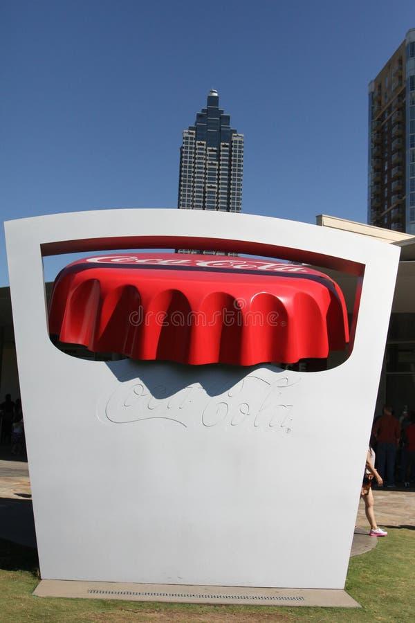 Coca Cola Museum à Atlanta, GA image stock