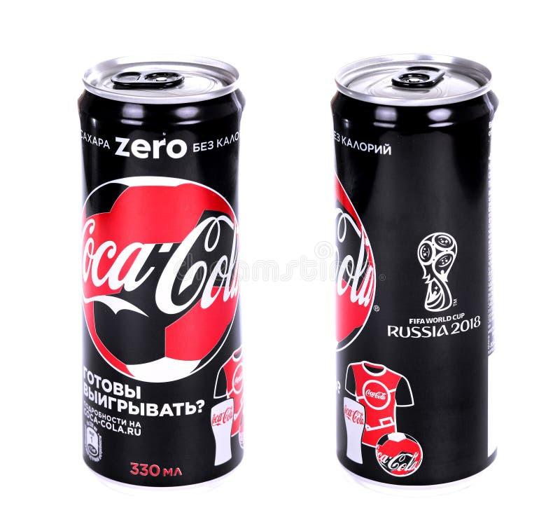Coca-Cola Zero FIFA World Cup Russia 2018 Edition royalty free stock photo