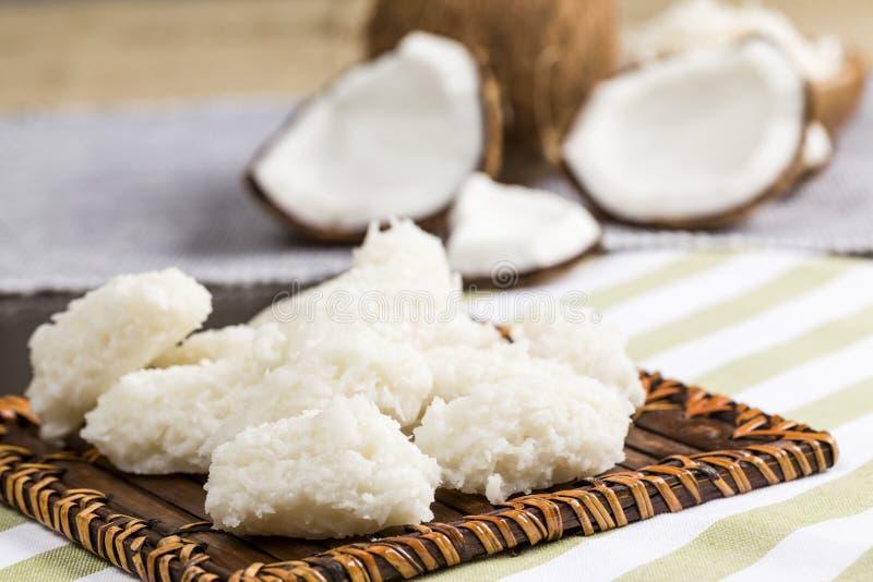 Cocada (dulce del coco) fotos de archivo
