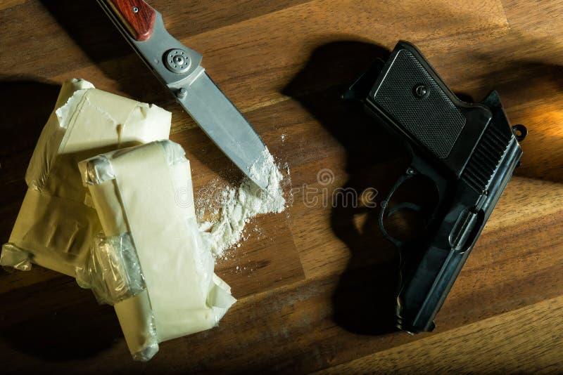 cocaina fotografia stock libera da diritti