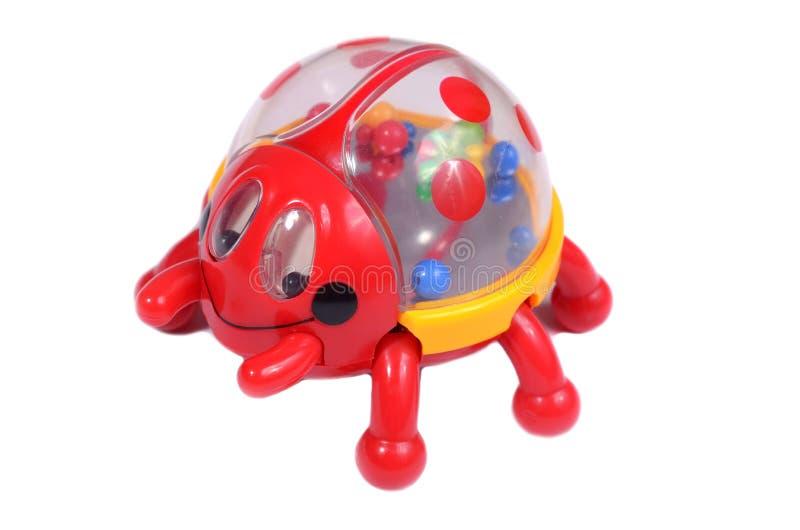 Coccinella del giocattolo fotografia stock