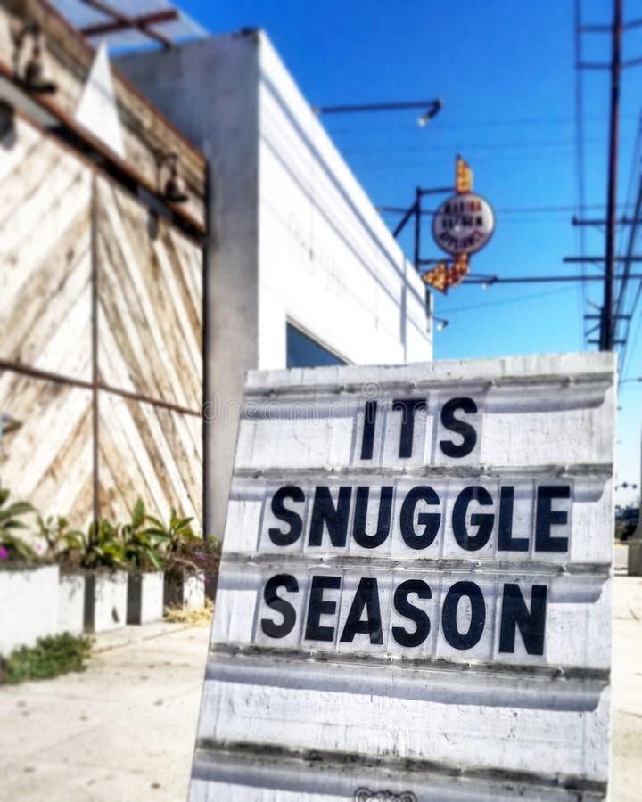 Coccoli la stagione immagine stock