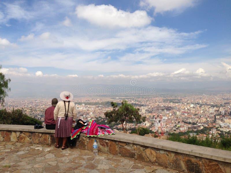 Cochabamba Bolívia imagem de stock