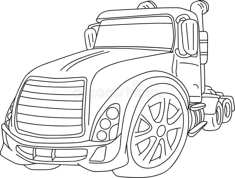 Coche stock de ilustración