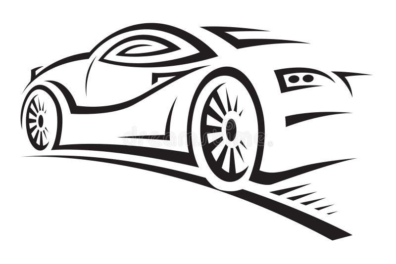 Coche ilustración del vector