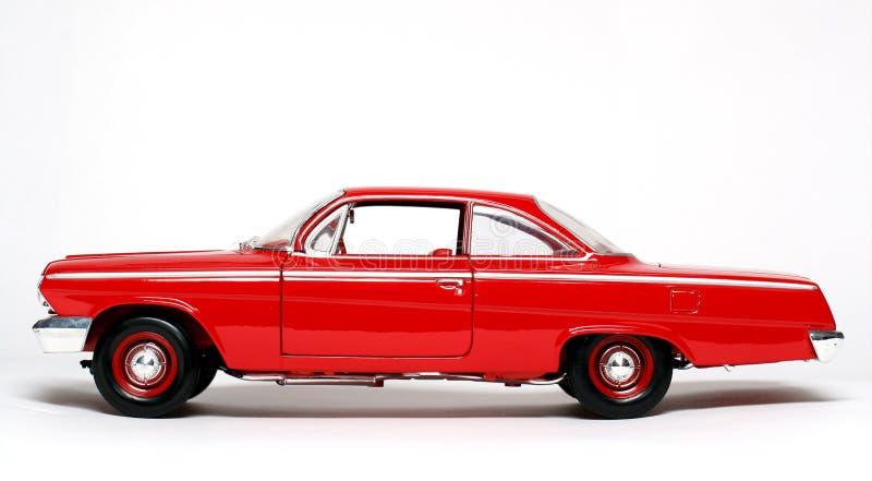 Coche 1962 del juguete de la escala del metal de Chevrolet Belair #3 foto de archivo