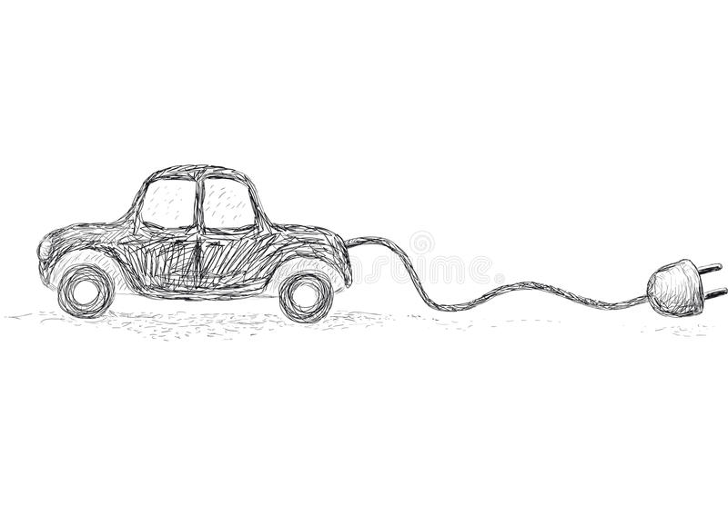 Coche alternativo libre illustration