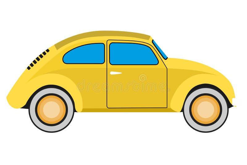 Coche amarillo libre illustration