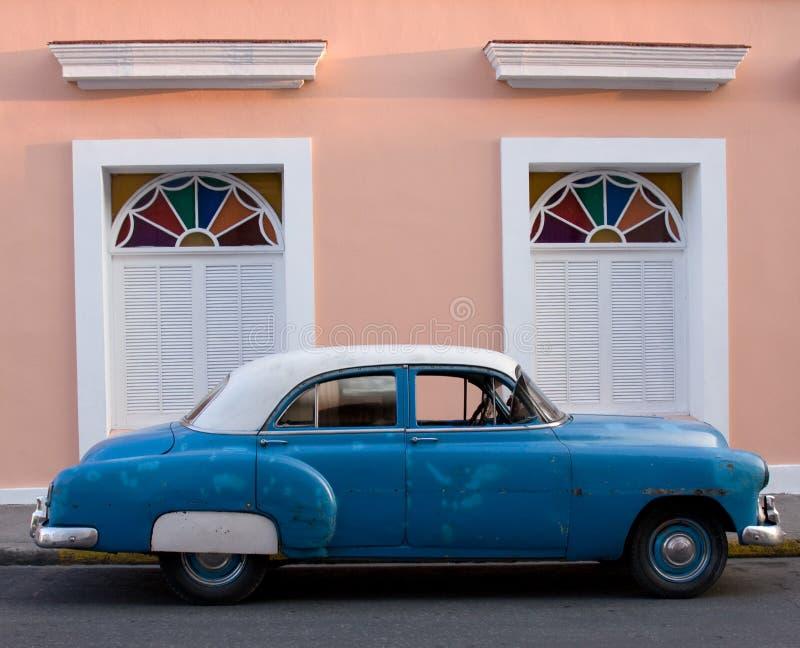 Coche americano de los años '50, Trinidad, Cuba fotos de archivo