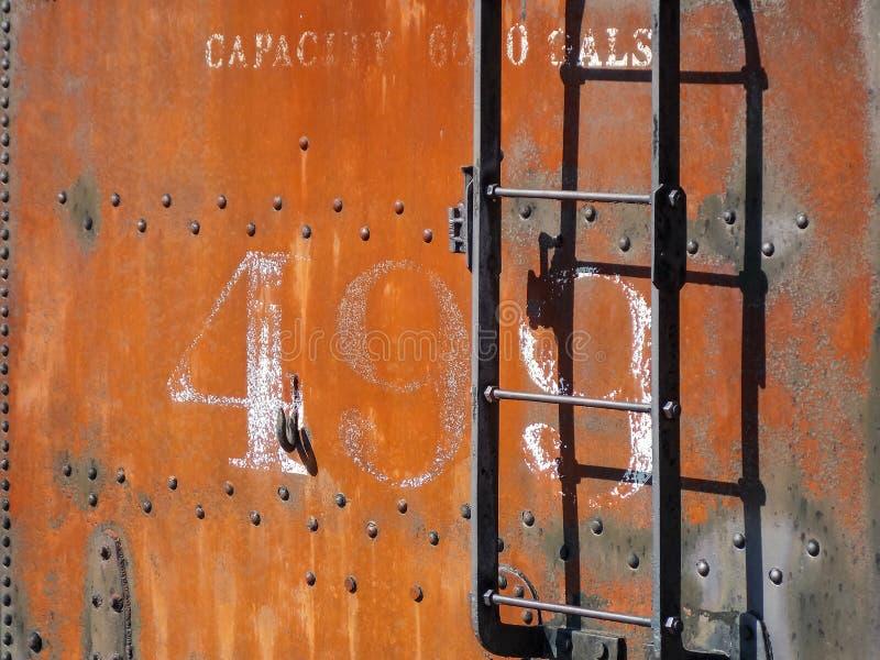 Coche blando locomotor aherrumbrado imagenes de archivo